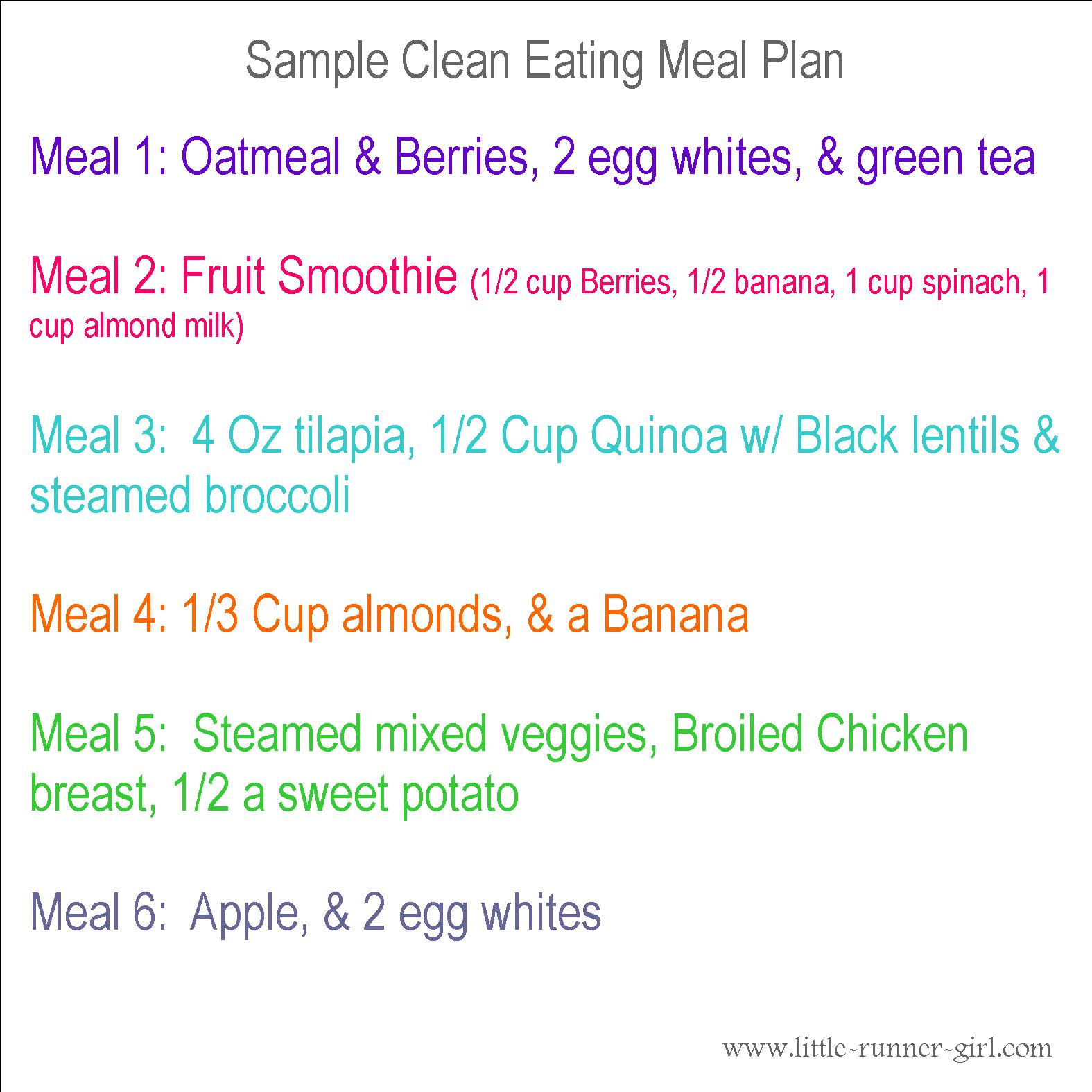 Clean Eating Meal Plan On A Budget  Clean eating tips and menus
