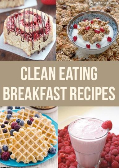 Clean Eating Recipes Breakfast  Clean eating The o jays and Breakfast and brunch on Pinterest