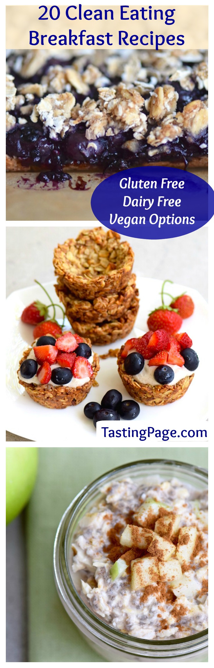 Clean Eating Recipes Breakfast  20 Clean Eating Breakfast Recipes — Tasting Page
