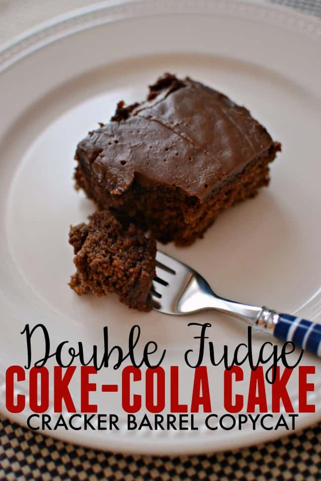 Coca Cola Cake Recipe  Copycat Cracker Barrel Coca Cola Cake Recipe
