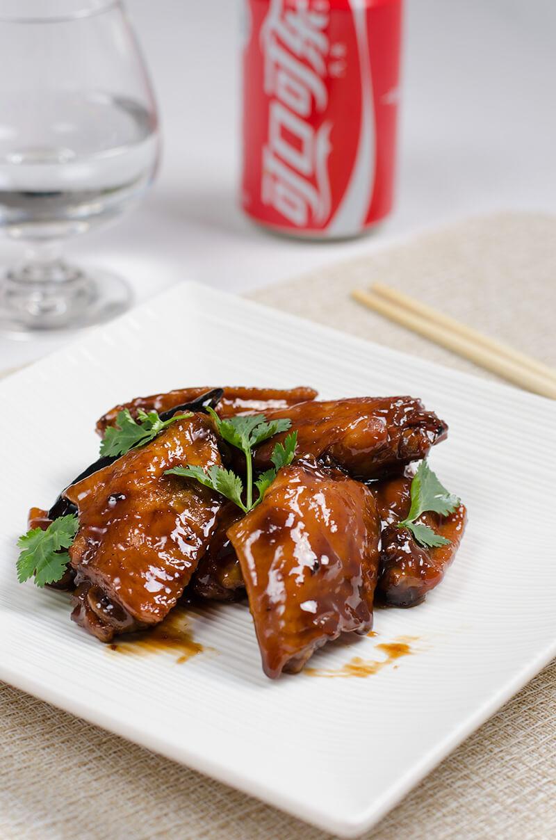 Coca Cola Chicken Wings  Braised Coca Cola Chicken Wings