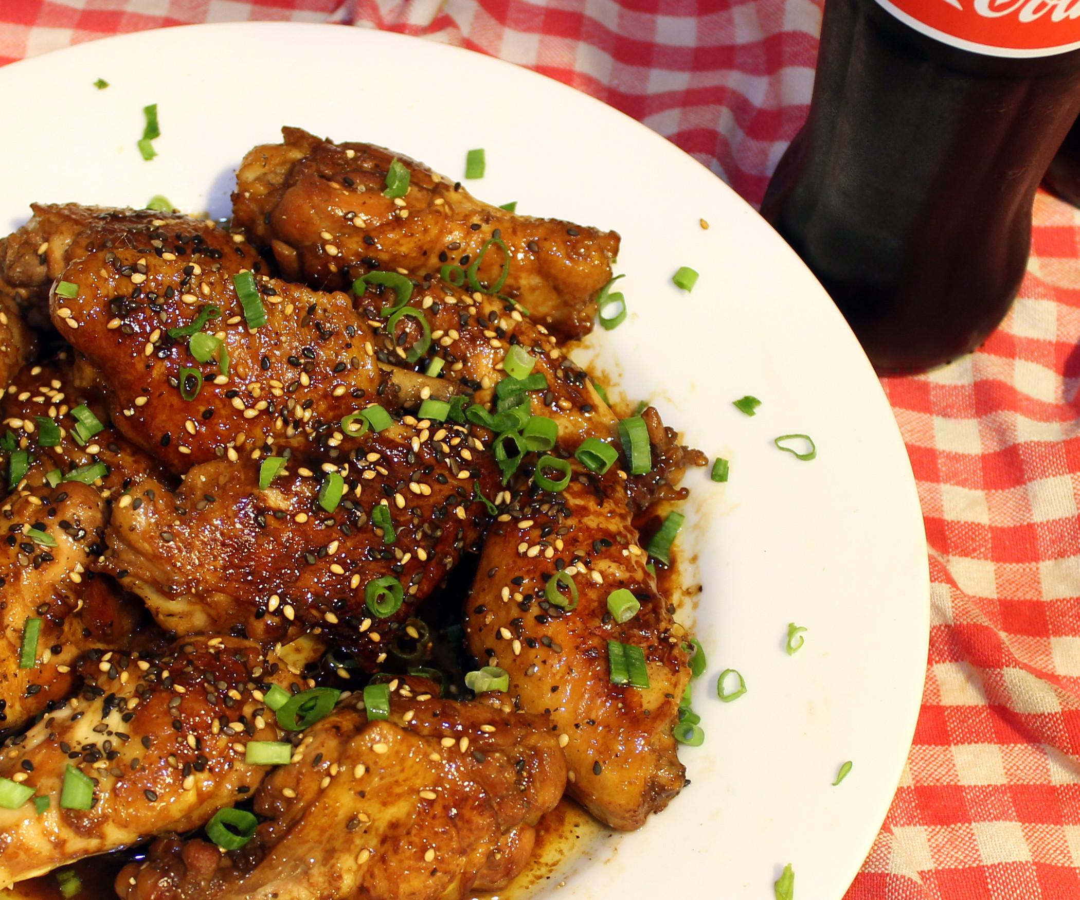 Coca Cola Chicken Wings  Coca Cola Chicken Wings All
