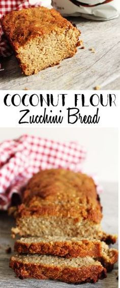 Coconut Flour Zucchini Bread  1000 images about Zucchini Recipes on Pinterest