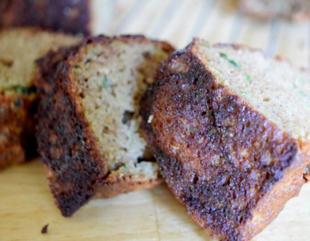 Coconut Flour Zucchini Bread  Coconut Flour Zucchini Bread Craving4More