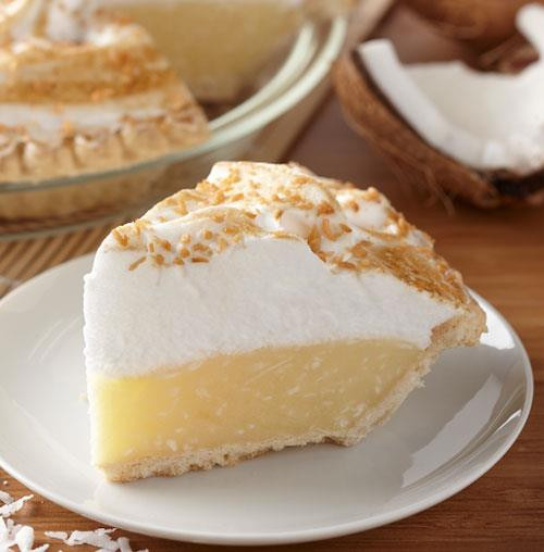 Coconut Meringue Pie  Coconut Meringue Pie