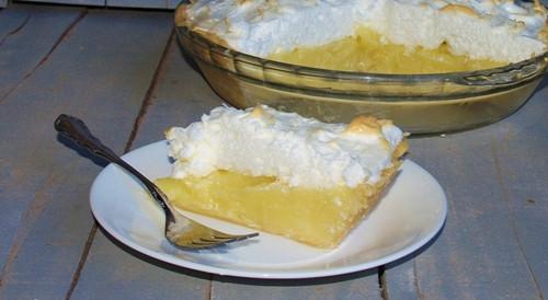 Coconut Meringue Pie  Nana s Old Fashioned Coconut Cream Pie with Meringue