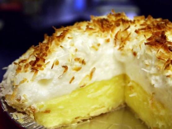 Coconut Meringue Pie  Coconut Meringue Pie Recipe Genius Kitchen