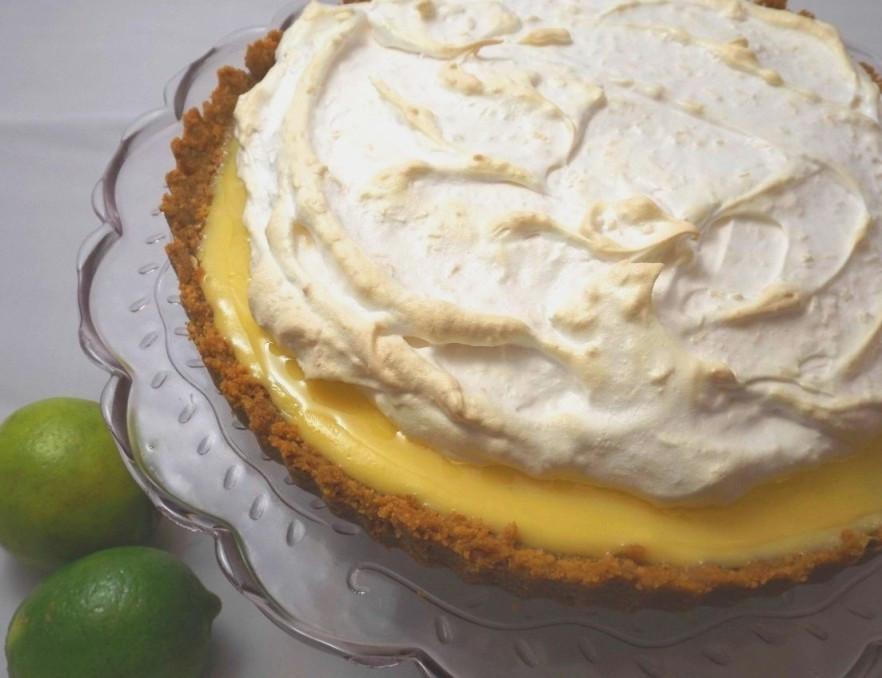 Coconut Meringue Pie  Lime and Coconut Meringue Pie