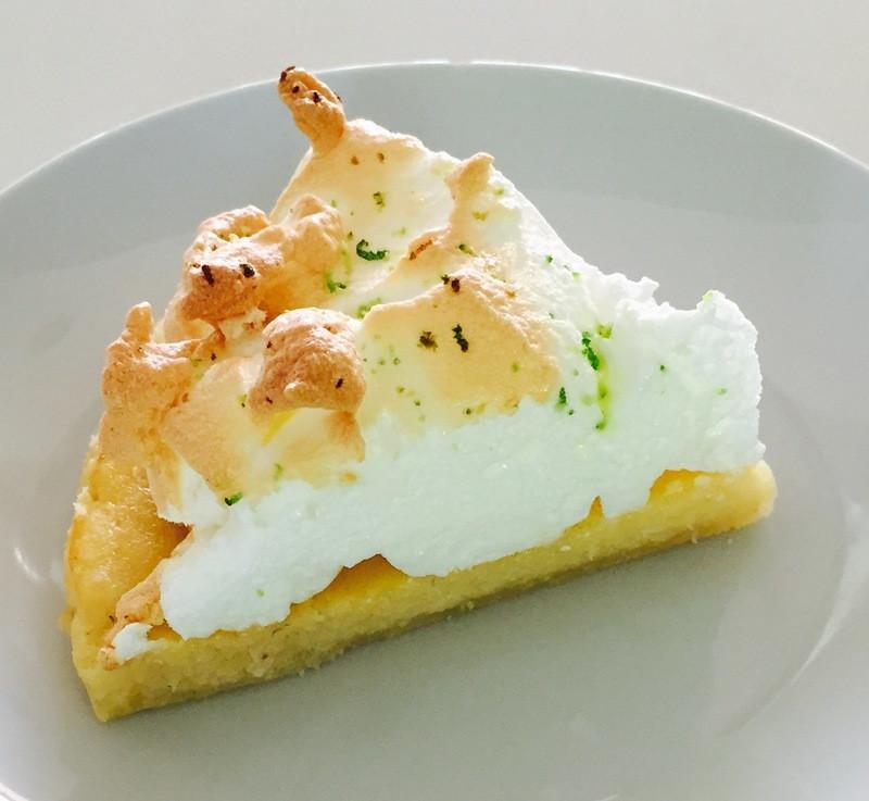 Coconut Meringue Pie  Lime And Coconut Pie With Meringue Recipe RecipeYum