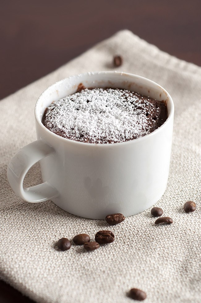 Coffee Mug Cake  14 Microwave Snacks You Can Cook in a Mug