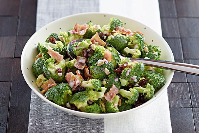 Cold Broccoli Salad  Cold Broccoli Salad Kraft Recipes