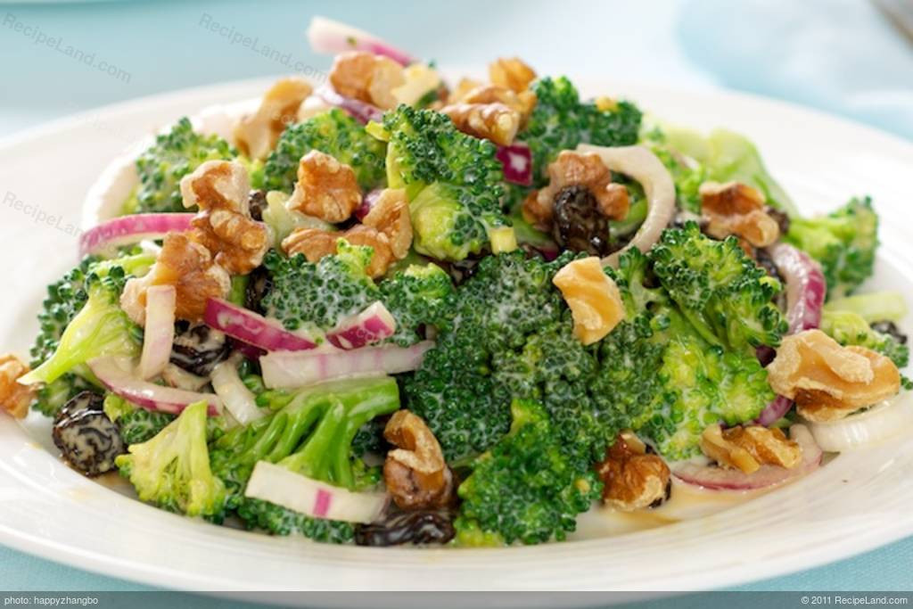 Cold Broccoli Salad  Cold Broccoli Salad Recipe