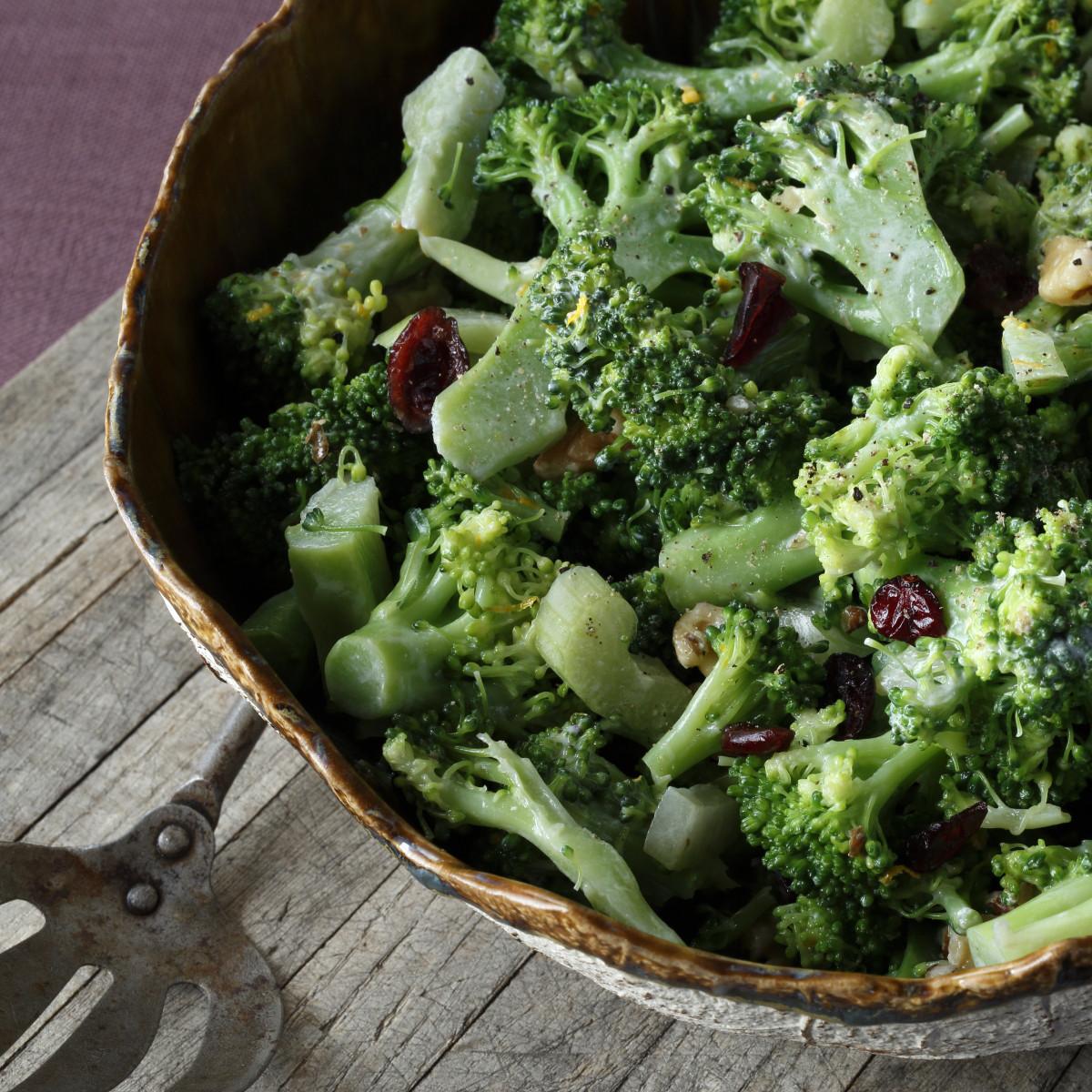 Cold Broccoli Salad  Cold Broccoli Salad The Local Palate