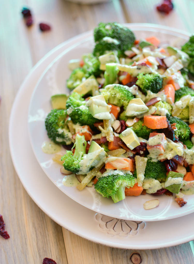 Cold Broccoli Salad  cold broccoli salad