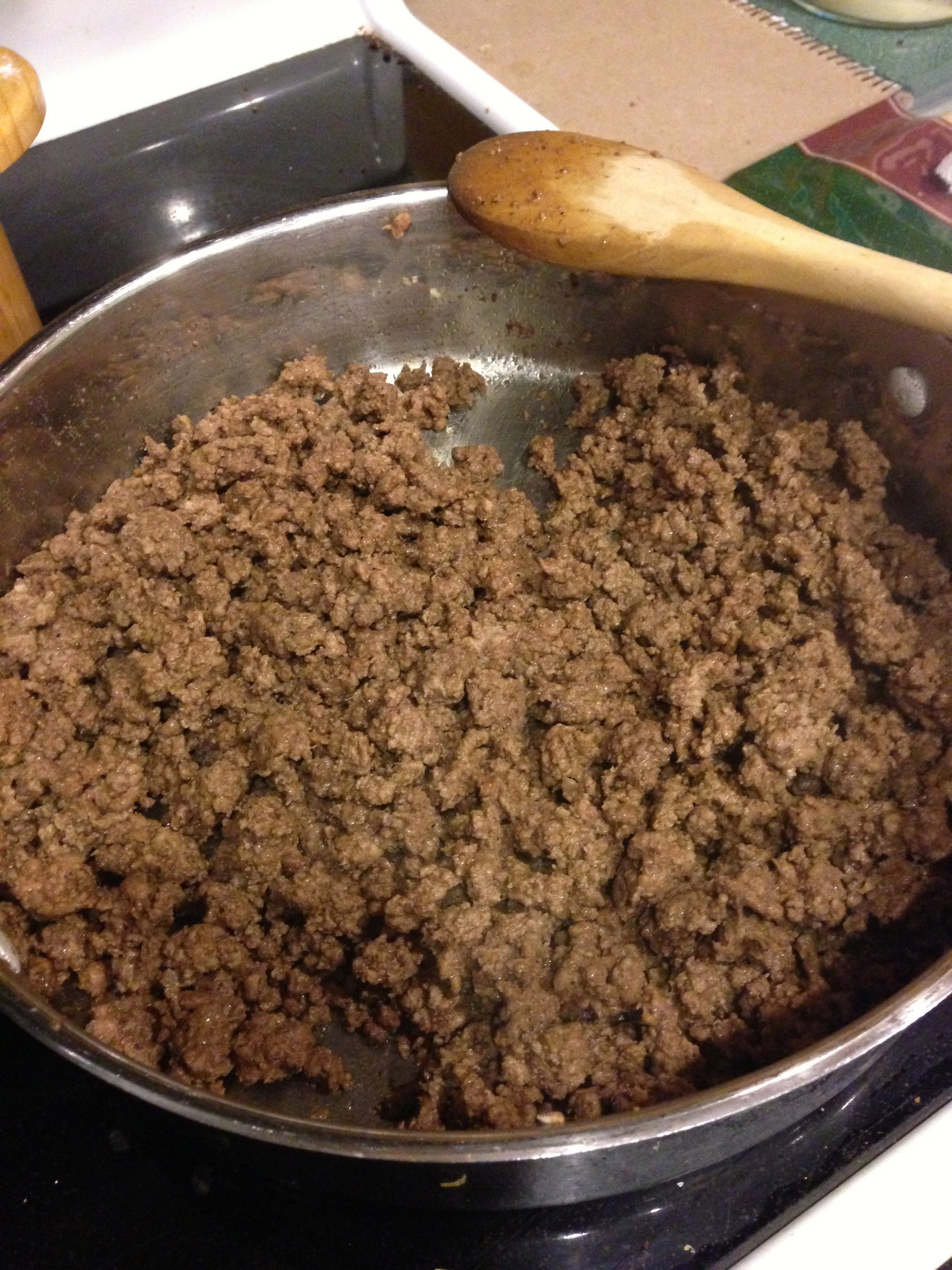 Cook Ground Beef  Backpacking Recipes Dehydrating Ground Beef Road Trip