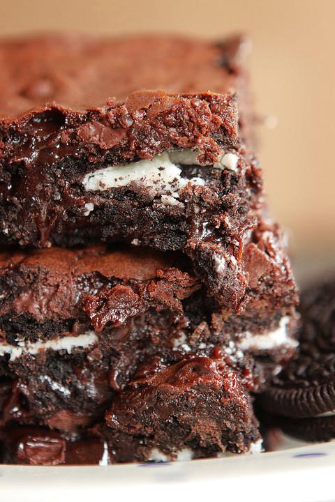 Cookies And Cream Brownies  Cookies N Cream Oreo Fudge Brownies