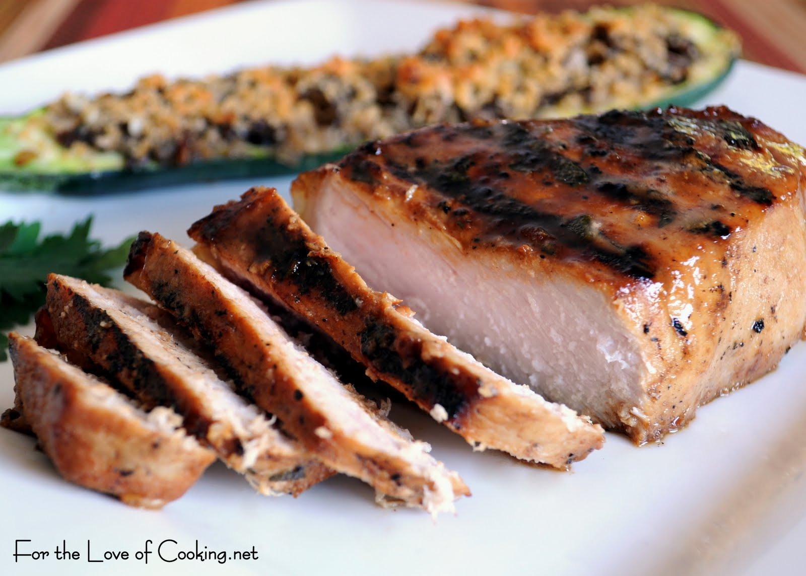 Cooking Thick Pork Chops  Honey Mustard Thick Cut Pork Chops