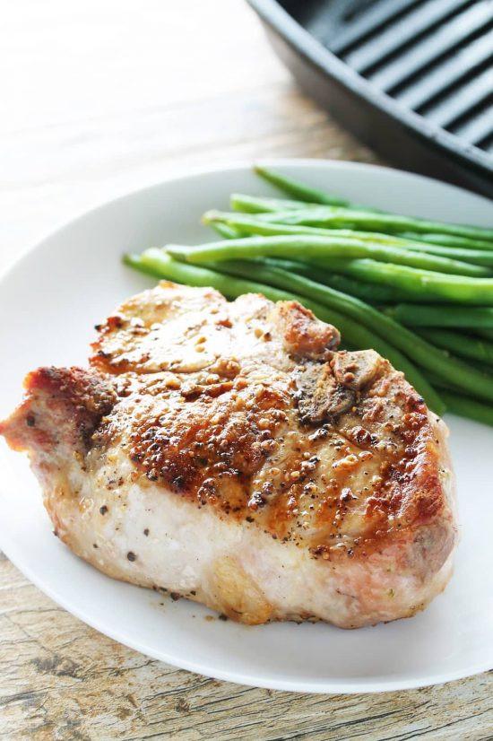 Cooking Thick Pork Chops  Perfect Thick Cut Pork Chops