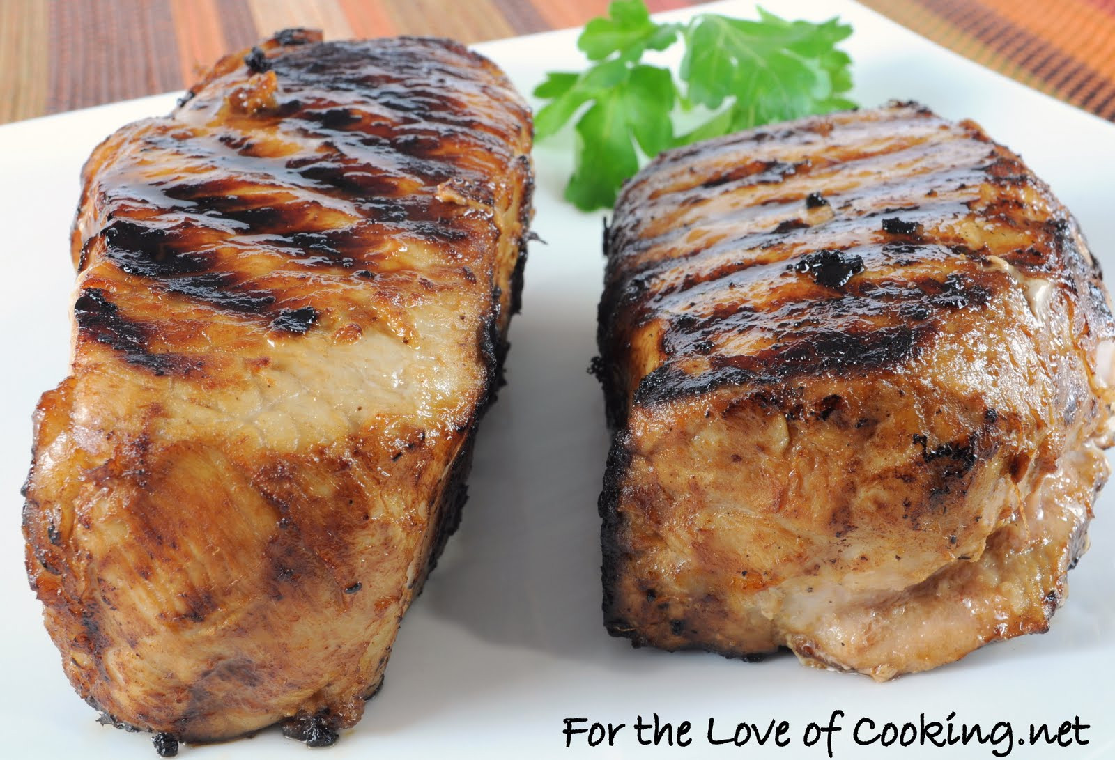 Cooking Thick Pork Chops  Asian Style Pork Chops