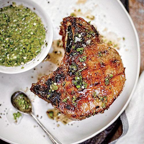 Cooking Thick Pork Chops  Double Thick Cut Pork Chops Healthy Pork Chop Recipes