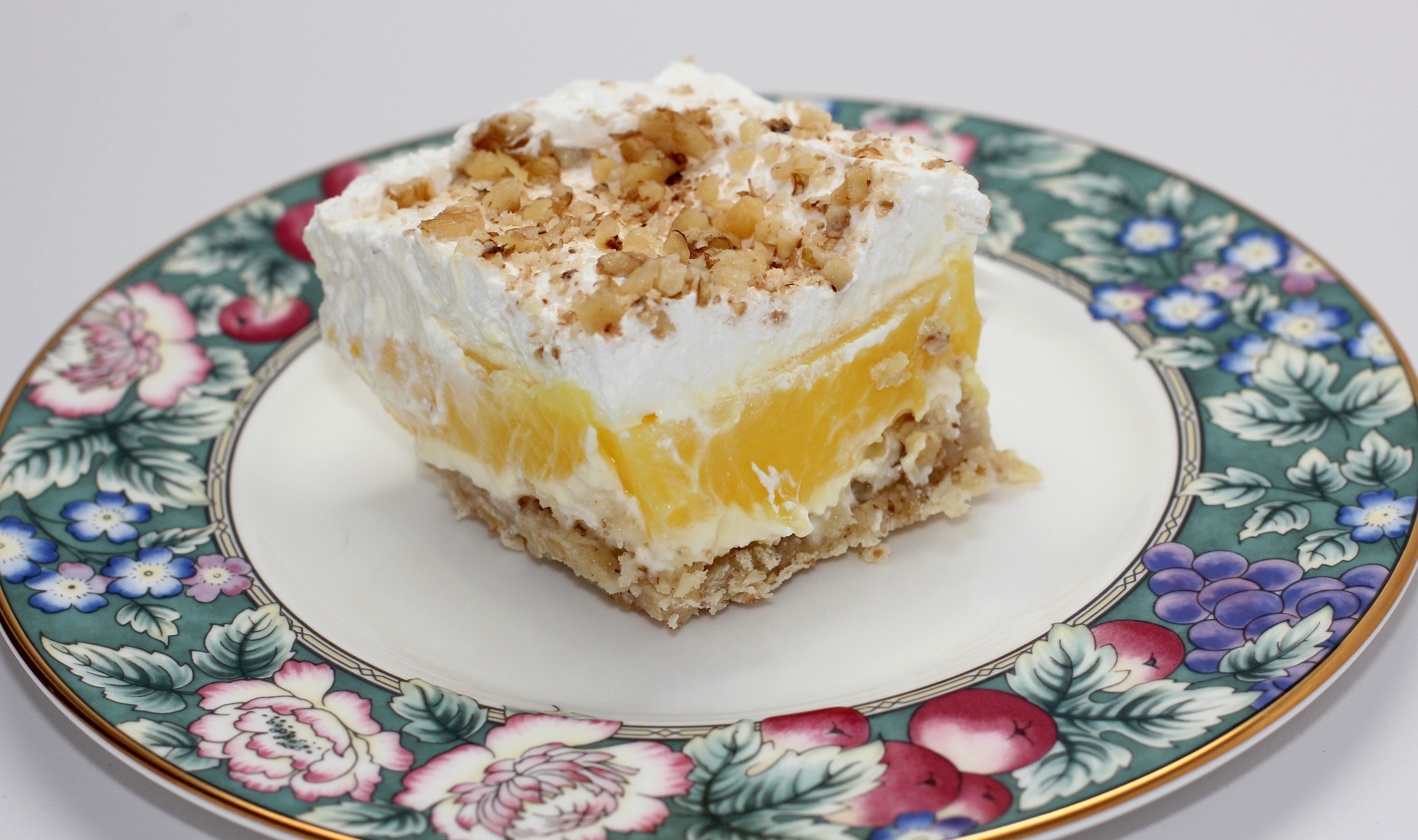 Cool Dessert Recipes  Cool Lemon Dessert Erica s Recipes