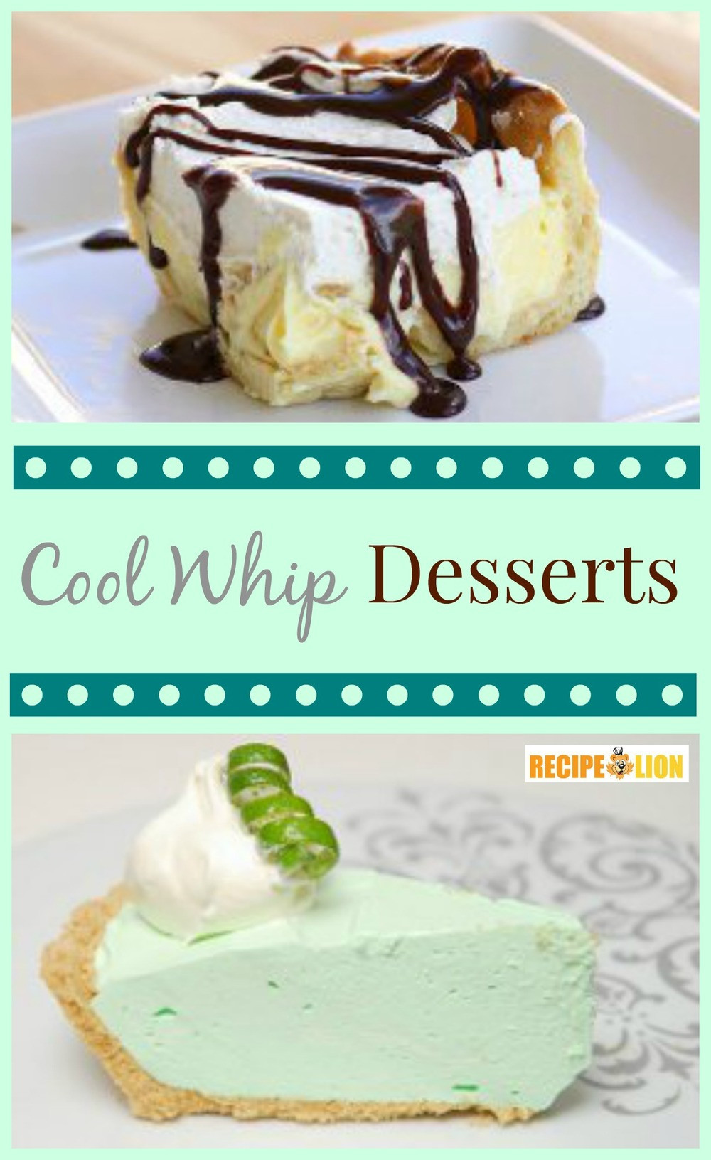 Cool Dessert Recipes  Top 10 Easy Cool Whip Desserts