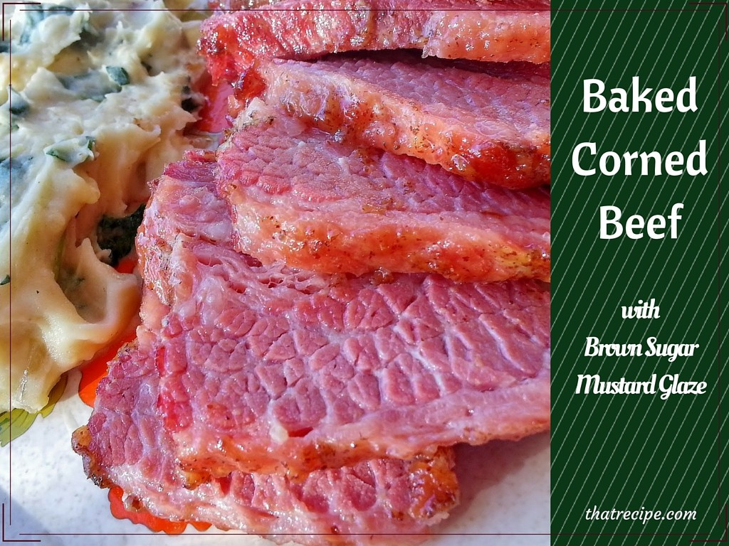 Corn Beef Recipes  Baked Corned Beef and Colcannon