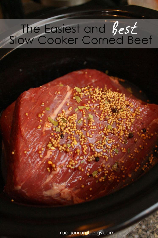 Corn Beef Recipes  The Best Crock Pot Corned Beef Recipe Rae Gun Ramblings