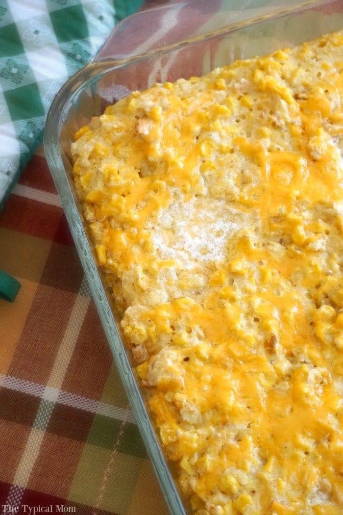 Corn Casserole With Cream Cheese  Cream Corn Casserole Recipe · The Typical Mom