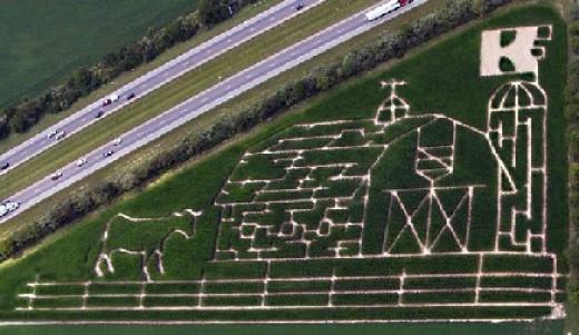 Corn Maze Indiana  Indiana Corn Mazes