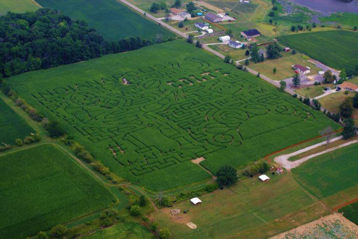 Corn Maze Indiana  9 Best Corn Mazes in Indiana in 2016