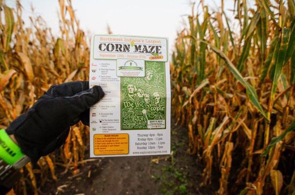 Corn Maze Indiana  Corn Maze Trip 2013 – PUMSA