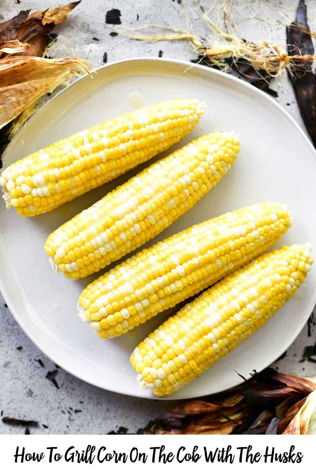 Corn On Grill  How To Grill Corn The Cob With The Husks The Gunny Sack