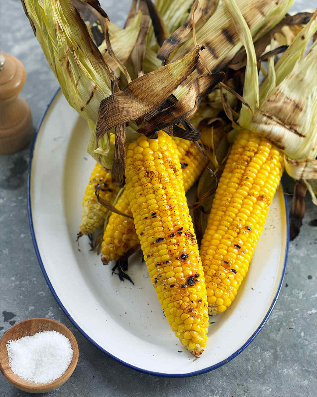 Corn On Grill  Grilled Corn on the Cob