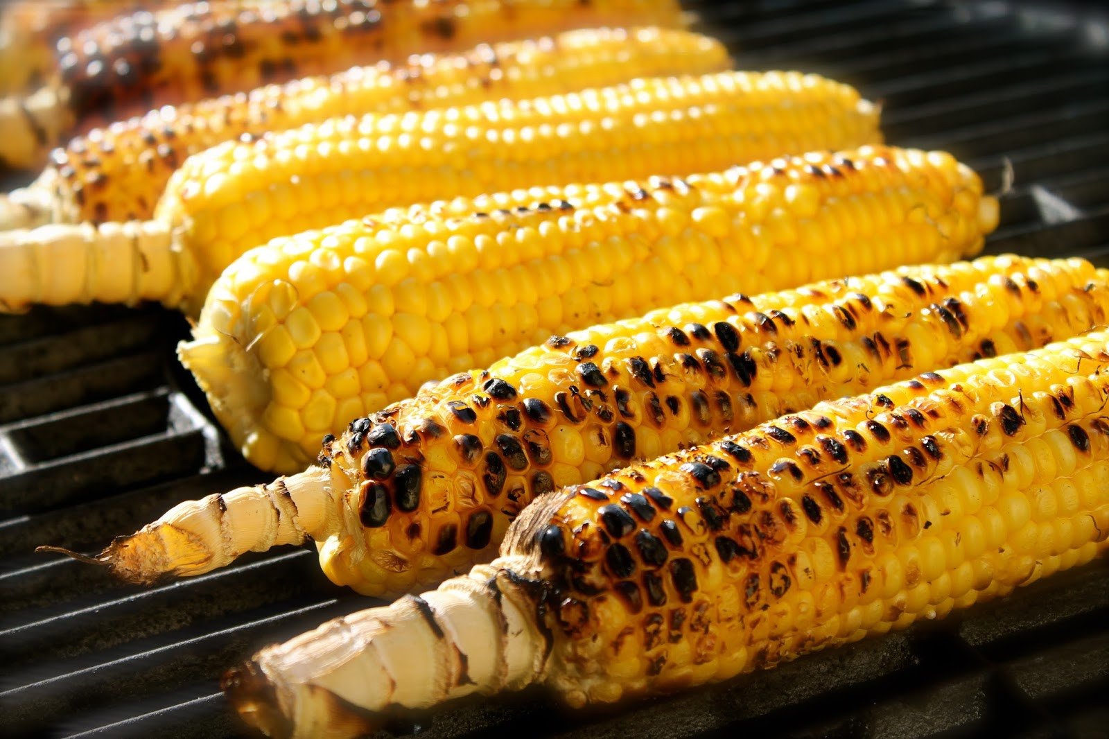 Corn On Grill  Savoir Faire Grilled corn on the cob