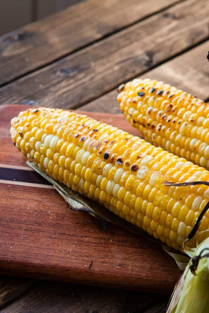 Corn On Grill  The Secret to the BEST Grilled Corn on the Cob Oh Sweet