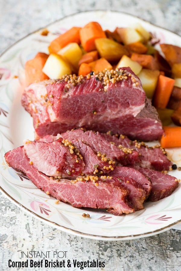 Corned Beef Brisket  Instant Pot Corned Beef Brisket Easy and Faster Cooking