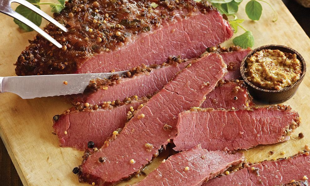 Corned Beef Brisket  1 Step Rapid Roast Rustic Corned Beef
