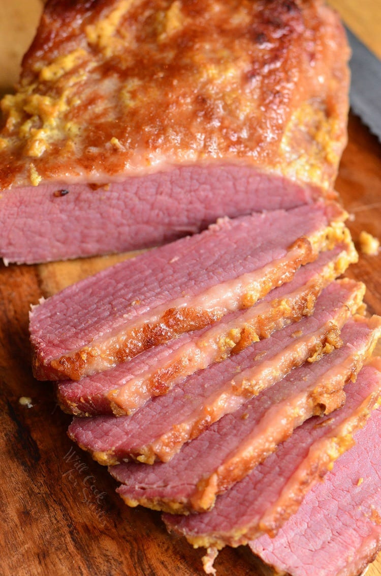 Corned Beef Brisket  3 Ingre nt Oven Baked Corned Beef Brisket Will Cook