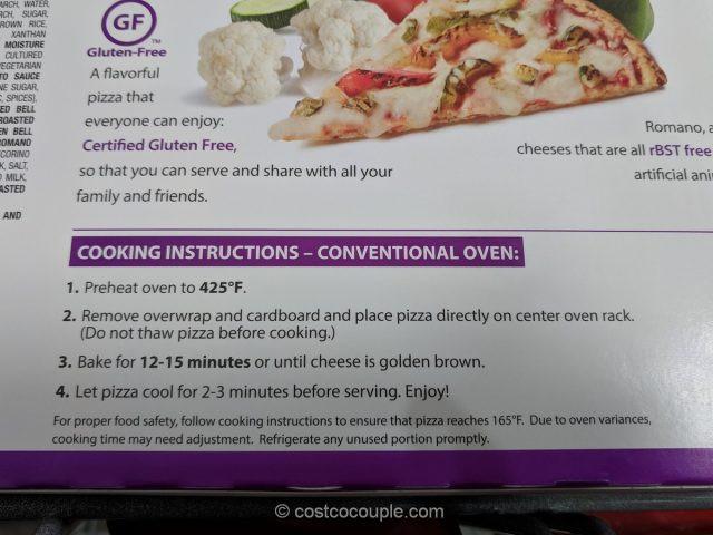 Costco Cauliflower Pizza  Milton's Cauliflower Crust Ve able Pizza