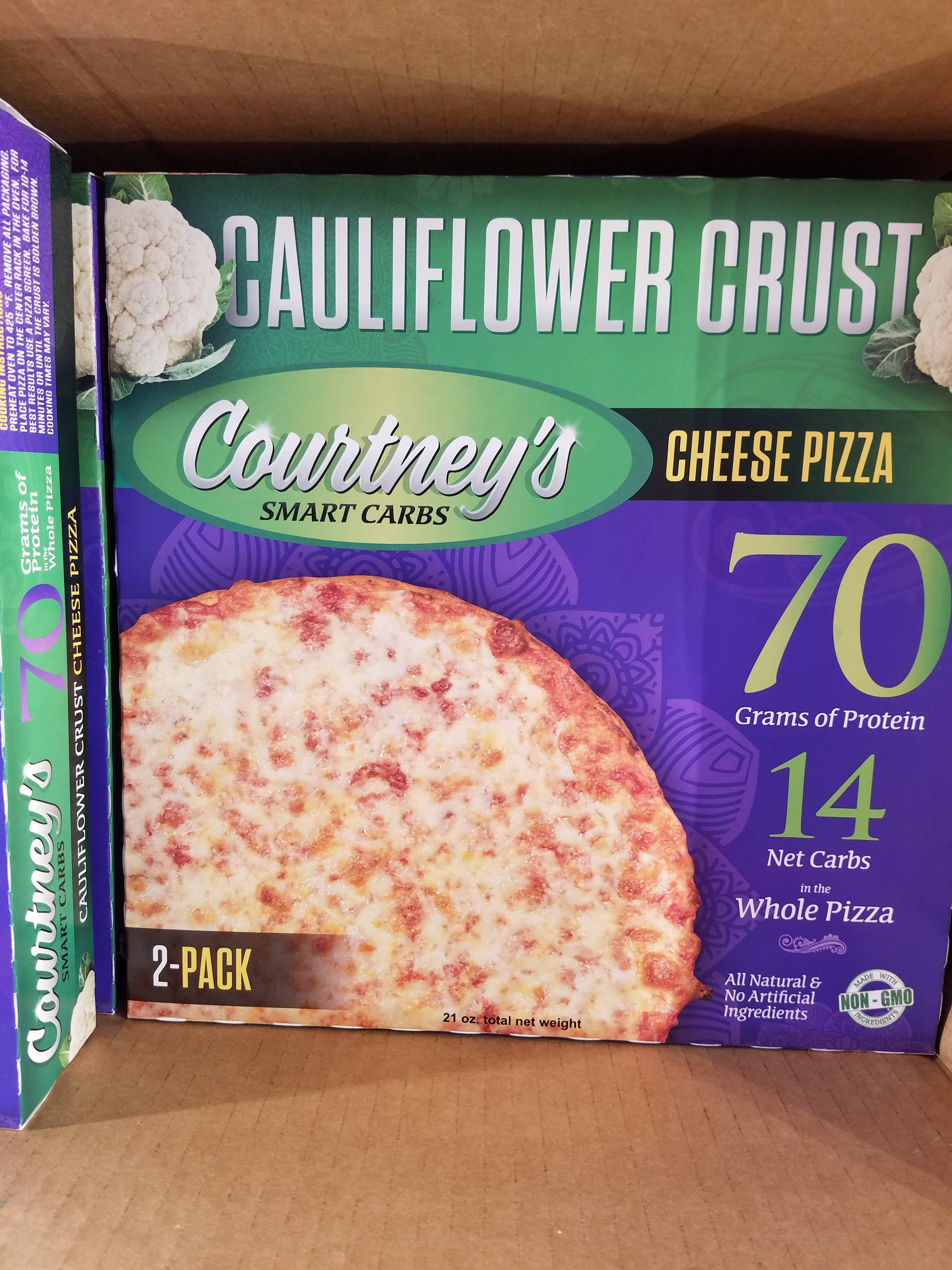 Costco Cauliflower Pizza  Spotted this frozen cauliflower pizza at Costco keto