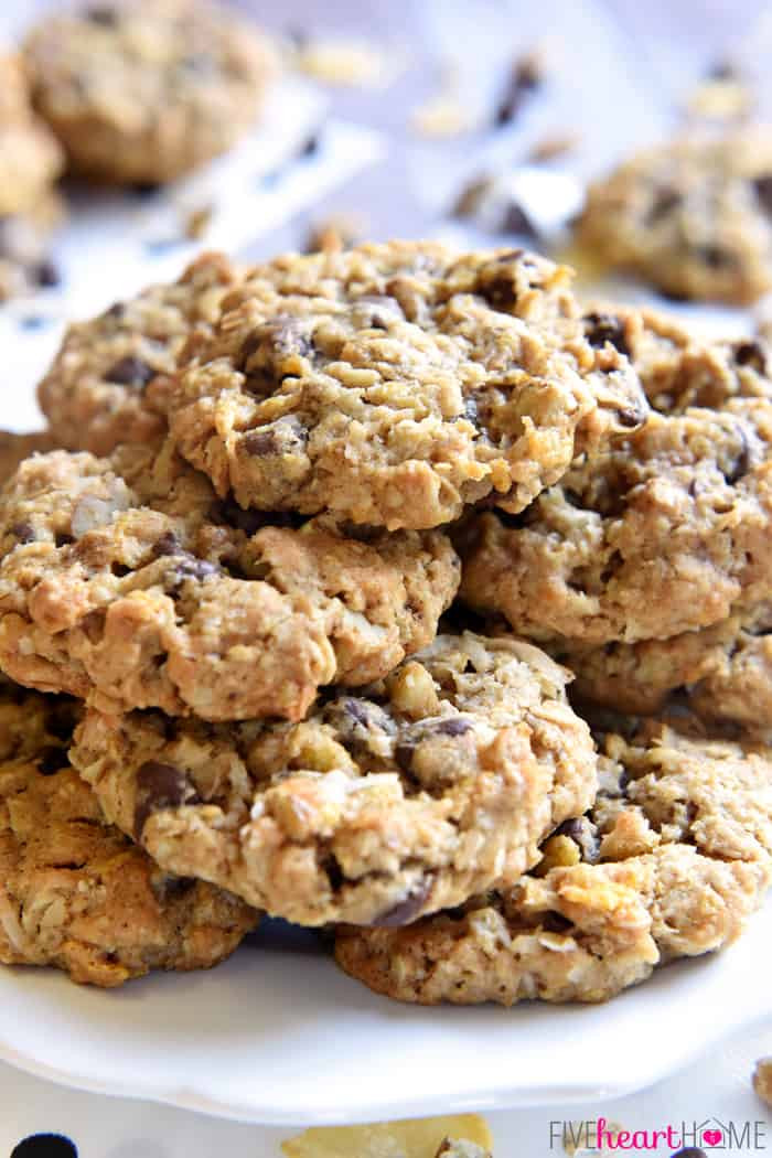 Cowboy Cookies Recipe  peanut butter chocolate chip loaded cowboy cookies