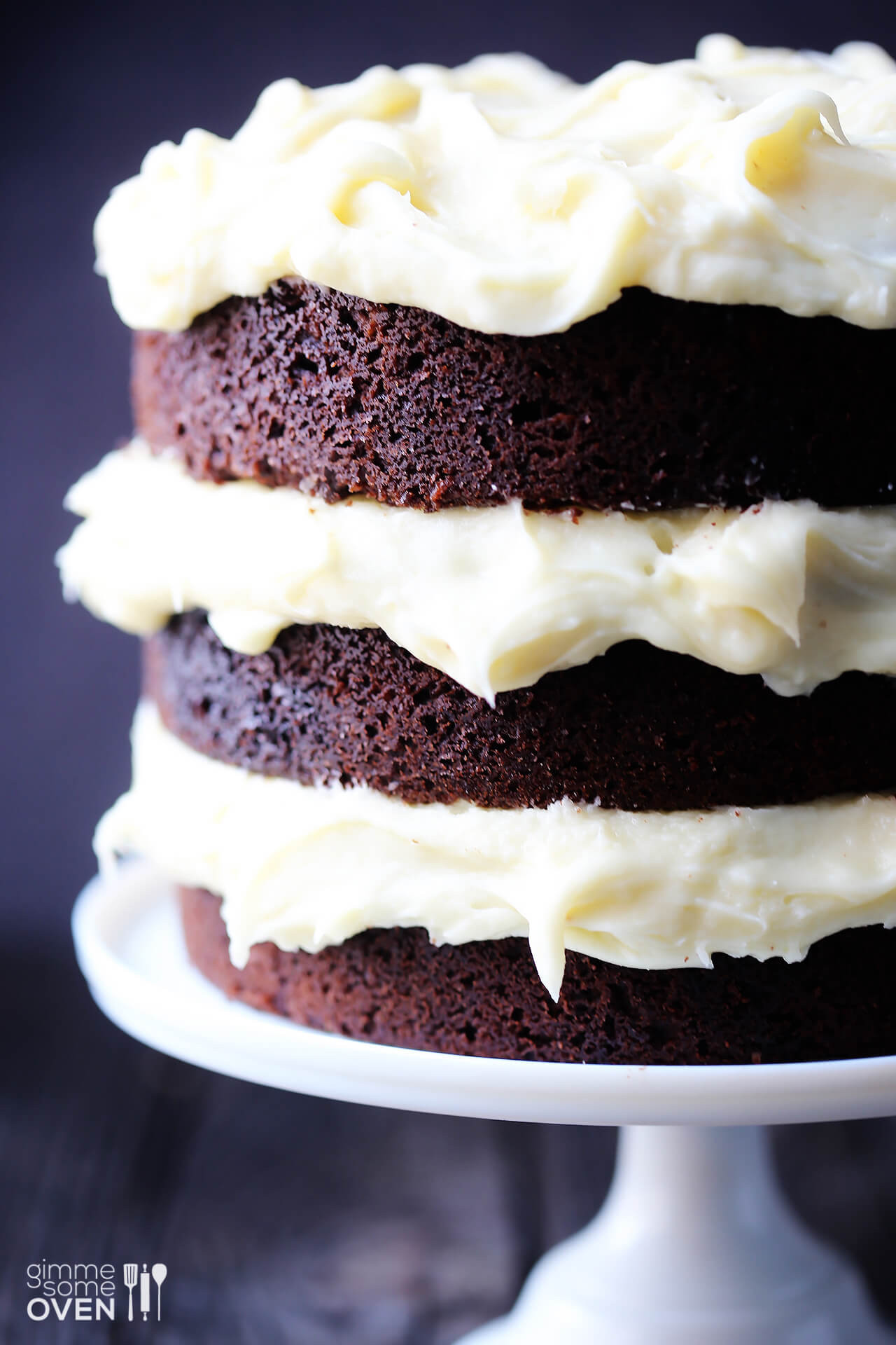 Cream Cheese Cake  Guinness Chocolate Cake with Cream Cheese Frosting