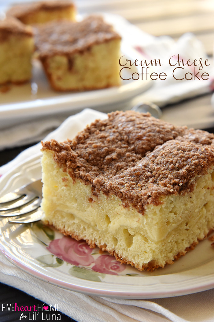 Cream Cheese Cake  Cream Cheese Coffee Cake
