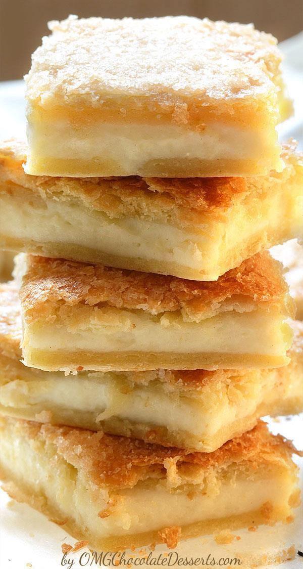 Cream Cheese Crescent Roll Dessert  Just Ordinary Cheesecake Bars