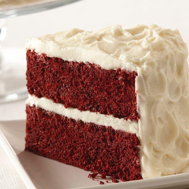 Cream Cheese Frosting For Red Velvet Cake  Easy Red Velvet Cake with Vanilla Cream Cheese Frosting