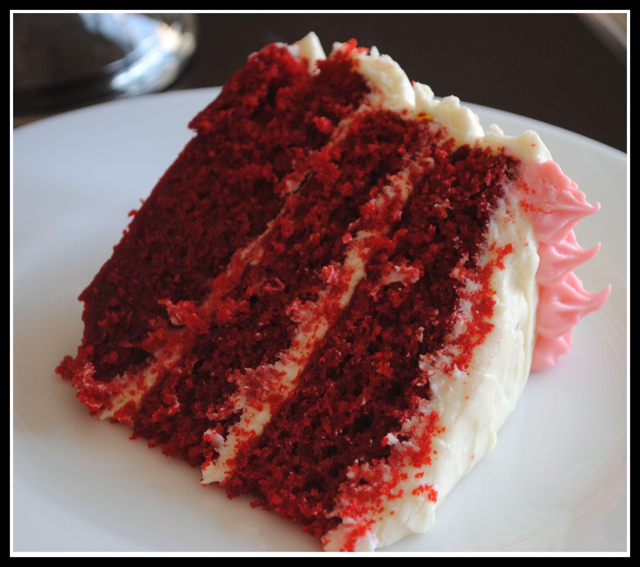 Cream Cheese Frosting For Red Velvet Cake  Red Velvet Cake with Cream Cheese Frosting weekly menu