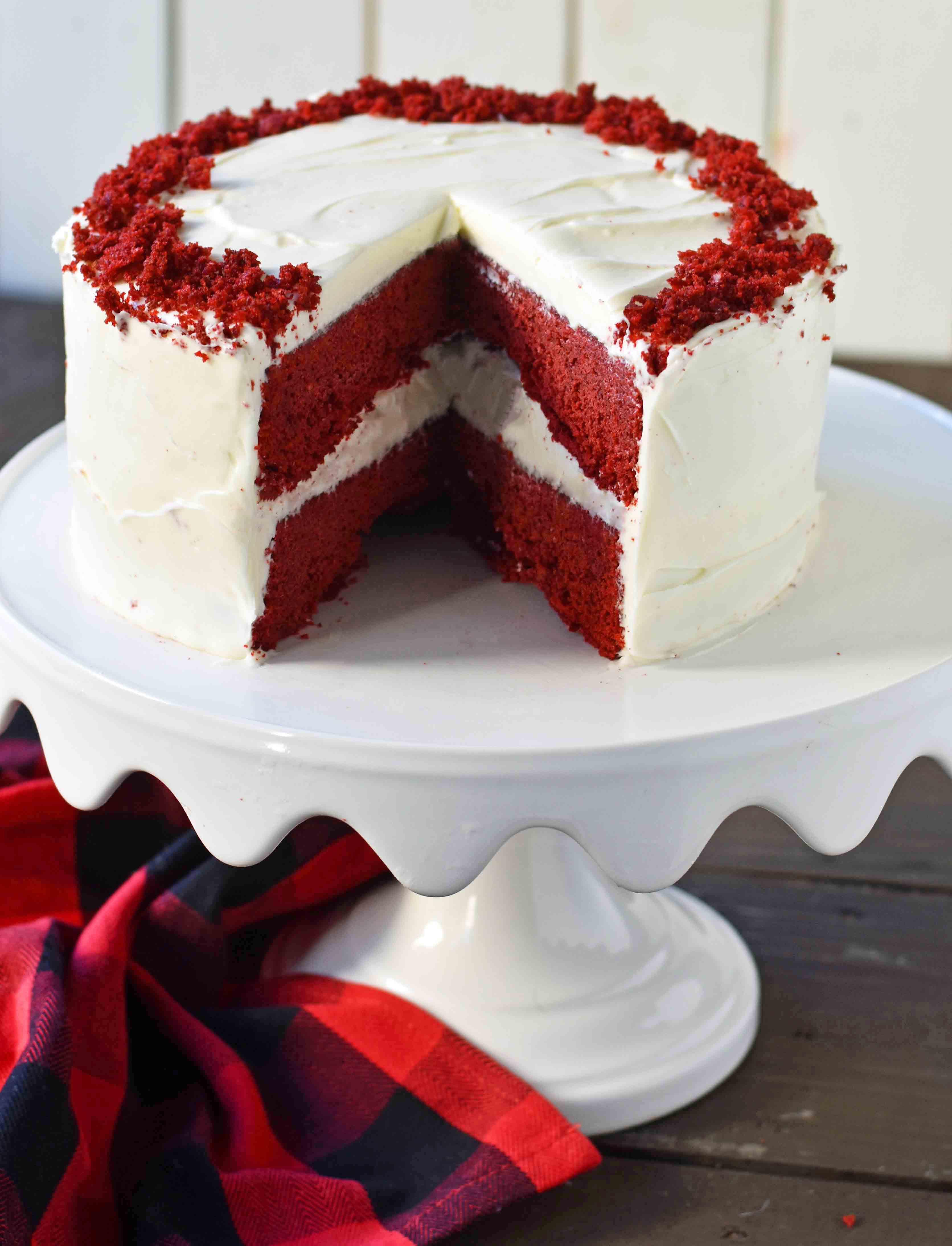 Cream Cheese Frosting For Red Velvet Cake  Red Velvet Cake