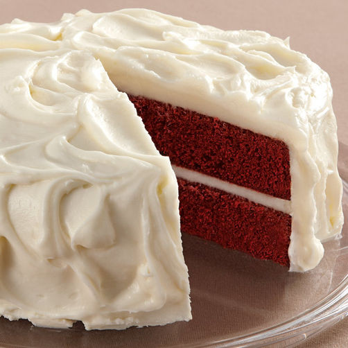 Cream Cheese Frosting For Red Velvet Cake  Red Velvet Cake with Cream Cheese Frosting Recipe