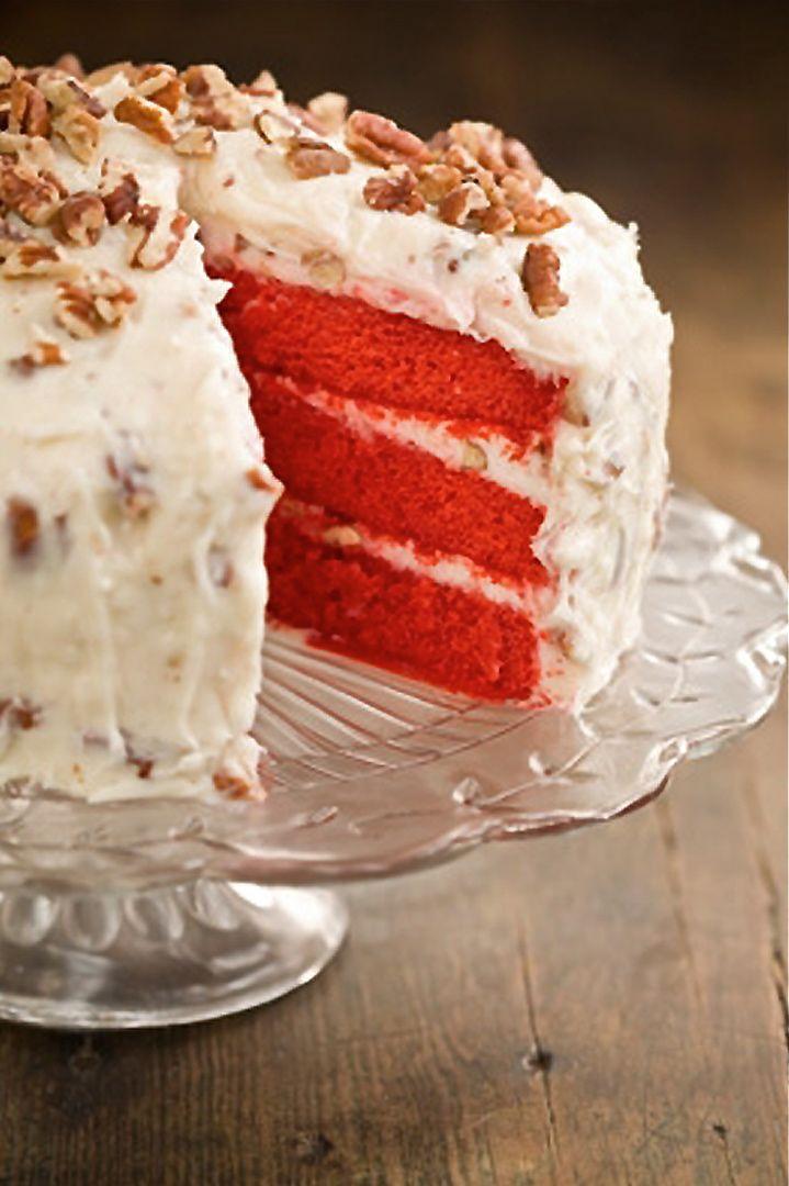 Cream Cheese Frosting For Red Velvet Cake  Scrumpdillyicious Red Velvet Cake with Cream Cheese Frosting